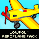 Toon Aeroplane Pack - 3DOcean Item for Sale