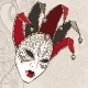 Hand Drawn Venetian Carnival Mask. - GraphicRiver Item for Sale