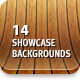 14 3D Showcase Backgrounds - GraphicRiver Item for Sale