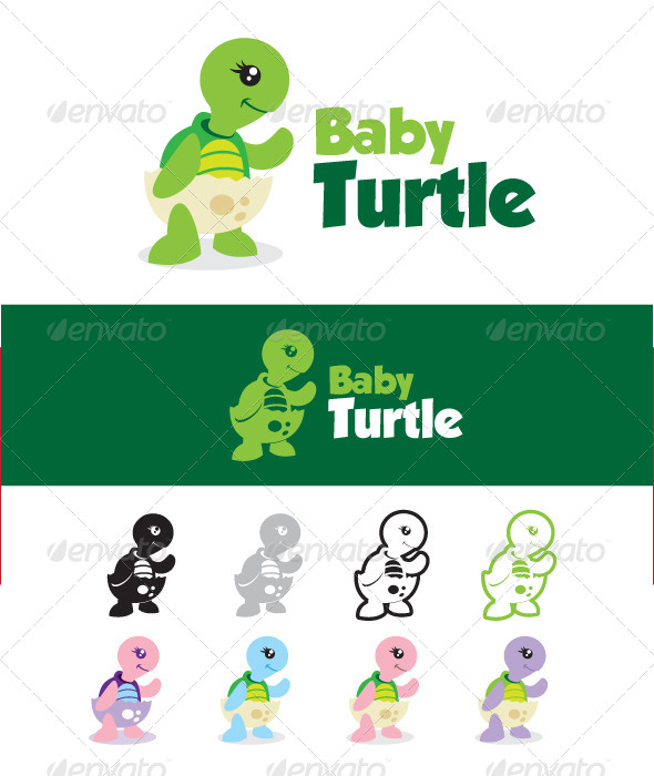 GraphicRiver Baby Turtle 4398202