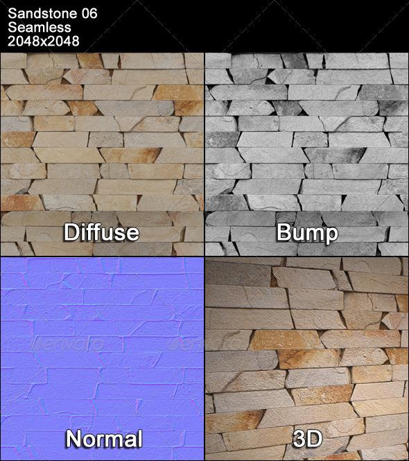 3DOcean Sandstone Seamless Texture 06 4399497