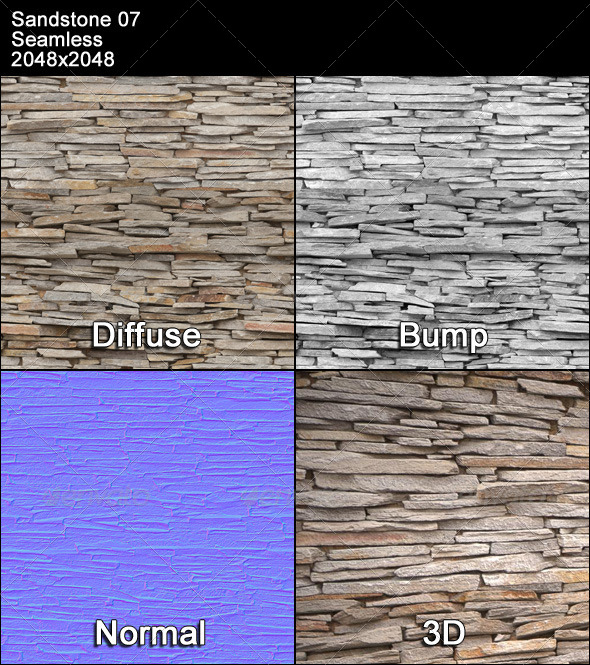 3DOcean Sandstone Seamless Texture 07 4399543