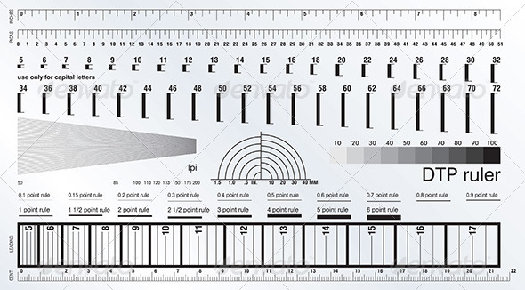 GraphicRiver DTP Measure Precise Ruler 4399586