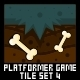 Platformer Game Tile Set 4 - GraphicRiver Item for Sale
