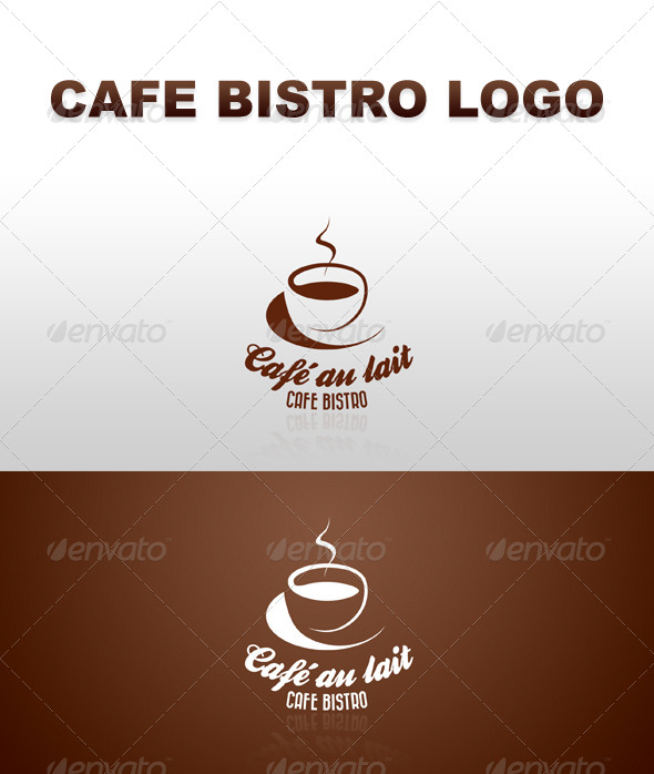 GraphicRiver Retro Cafe Bistro Bar Logo 7 4321160