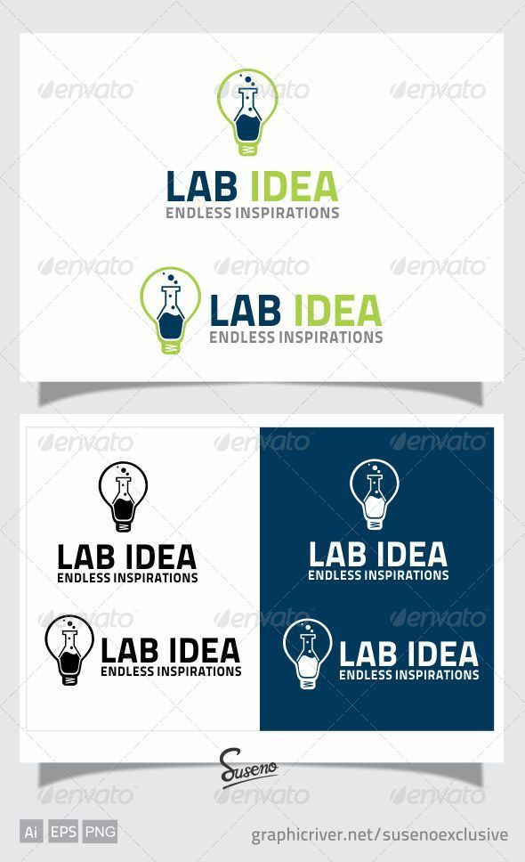 GraphicRiver LAB IDEA LOGO 4404790