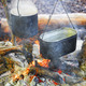 Two pots above the fire. - PhotoDune Item for Sale