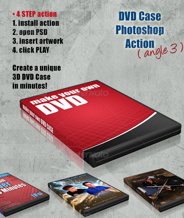 GraphicRiver DVD Cover Action Angle 3 4408229