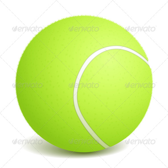 GraphicRiver Tennis Ball 4408592