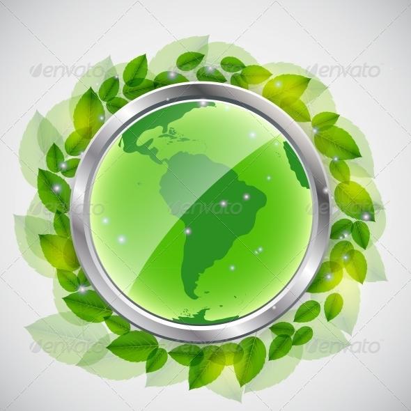 GraphicRiver Green Earth Concept 4408747