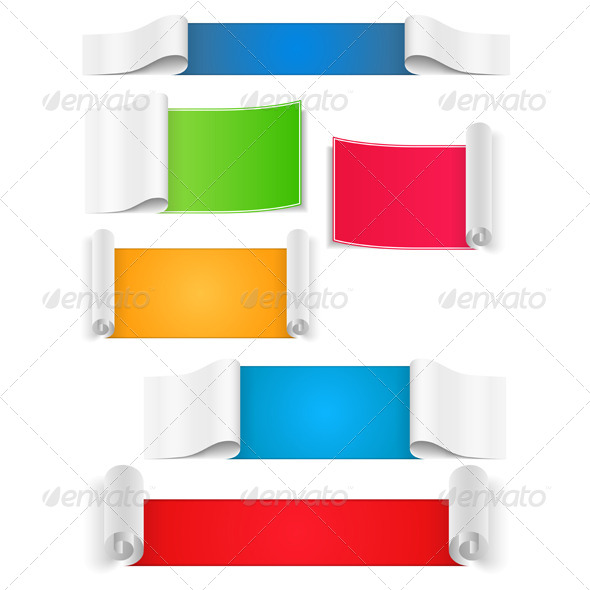 GraphicRiver Paper Banners 4408763
