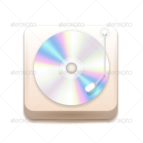 GraphicRiver Vector Music Application Icon 4408769