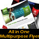 All in One Multipurpose Flyer - GraphicRiver Item for Sale