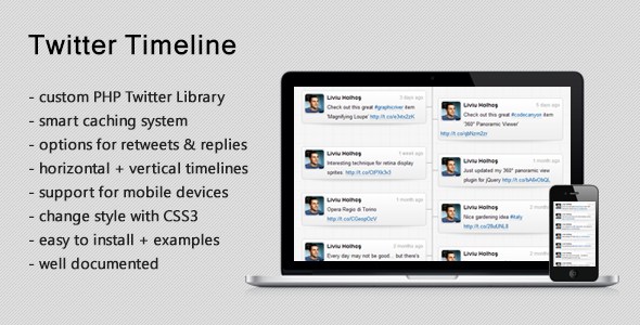 Responsive Twitter Timeline