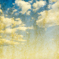Vintage background in the blue sky - PhotoDune Item for Sale