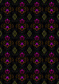 Motley Seamless  Background with Floral Ornament - PhotoDune Item for Sale