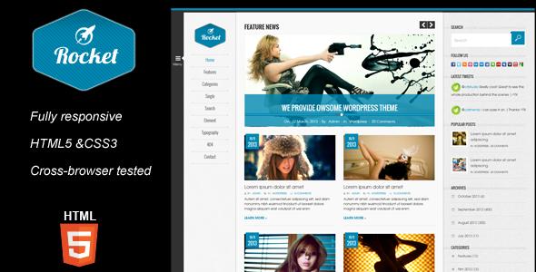 Rocket Magazine HTML5 Template by kopasoft | ThemeForest