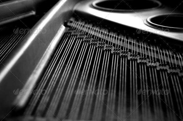 Stock Photo - PhotoDune Piano Strings 479276