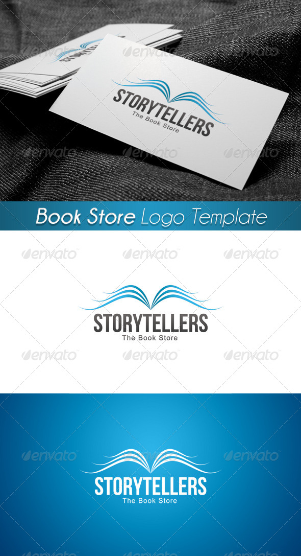 GraphicRiver The Book Store Logo 5 4312358