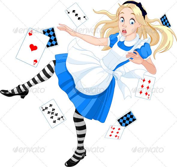 GraphicRiver Falling Alice 4412763