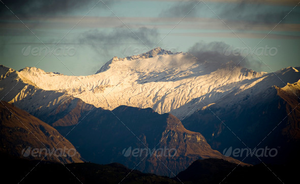 Mountain Dawn - Stock Photo - Images