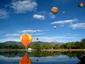 Colorful Hot Air Balloons Flying in the Sky - PhotoDune Item for Sale