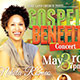 Gospel Benefit Concert: Church Flyer Template - GraphicRiver Item for Sale