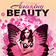 Beauty Party Flyer - GraphicRiver Item for Sale