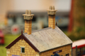 Model Railway Station Roof & Chimney - PhotoDune Item for Sale