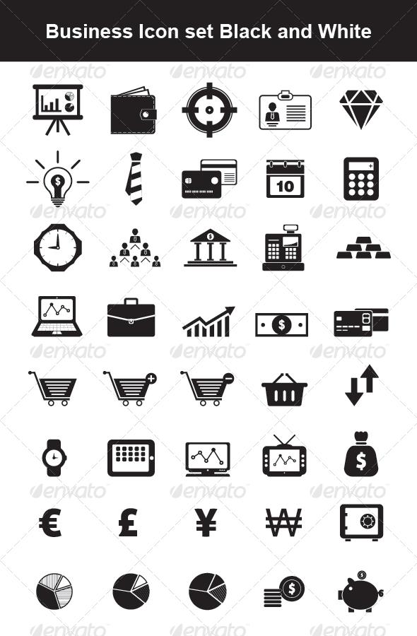 GraphicRiver Business Icon set 4418260