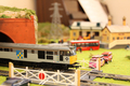 Model Railway Level Crossing Scene - PhotoDune Item for Sale