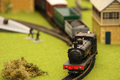 Model Railway Steam Freight Train - PhotoDune Item for Sale
