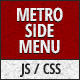 Metro Style Side Menu - CodeCanyon Item for Sale