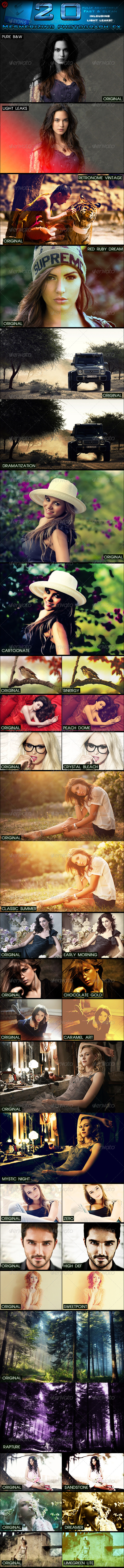 20 Photograph FX - Photo Effects Actions