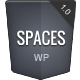 Spaces | Responsive Retina Blog - ThemeForest Item for Sale