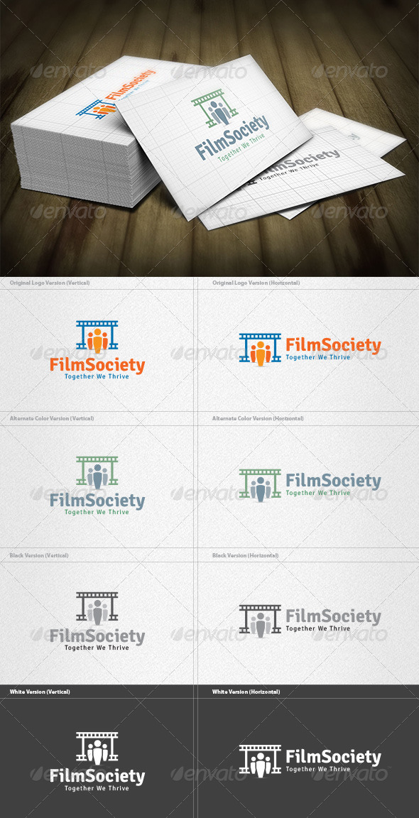 GraphicRiver Film Society Logo 4420882