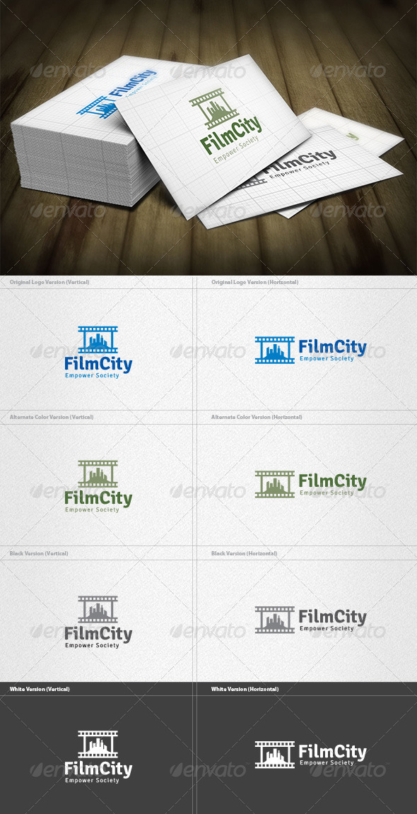 GraphicRiver Film City Logo 4420990