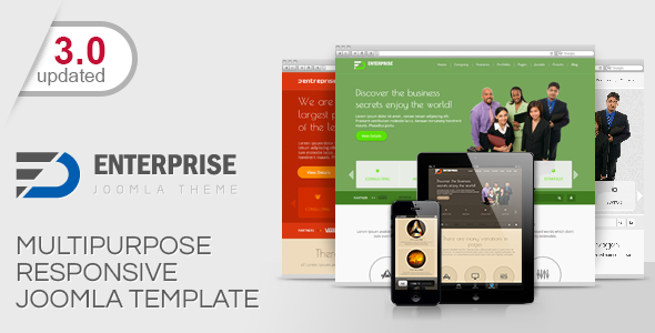 Enterprise-Multipurpose Responsive Joomla Theme - Corporate Joomla