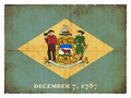 Grunge flag of Delaware (USA) - PhotoDune Item for Sale
