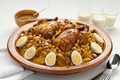Moroccan couscous with chicken and caramelized Onions - PhotoDune Item for Sale