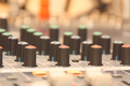 Audio Mixing Desk Knobs & Controls - PhotoDune Item for Sale
