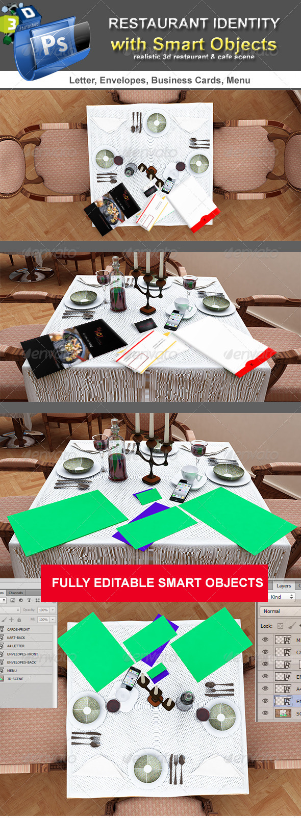 GraphicRiver Table Scenes Restorant Identity 4422026