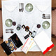 Table Scenes Restorant Identity - GraphicRiver Item for Sale