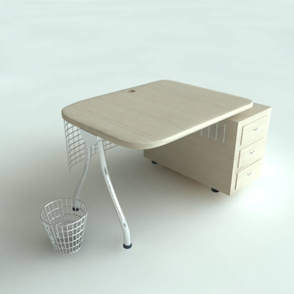 3DOcean Office Desk Model 4422525