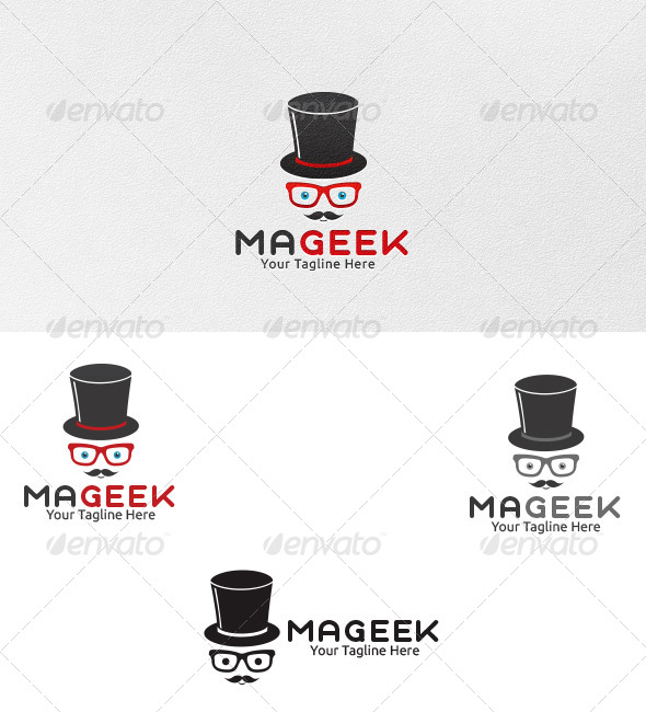 GraphicRiver Mageek Logo Template 4422530
