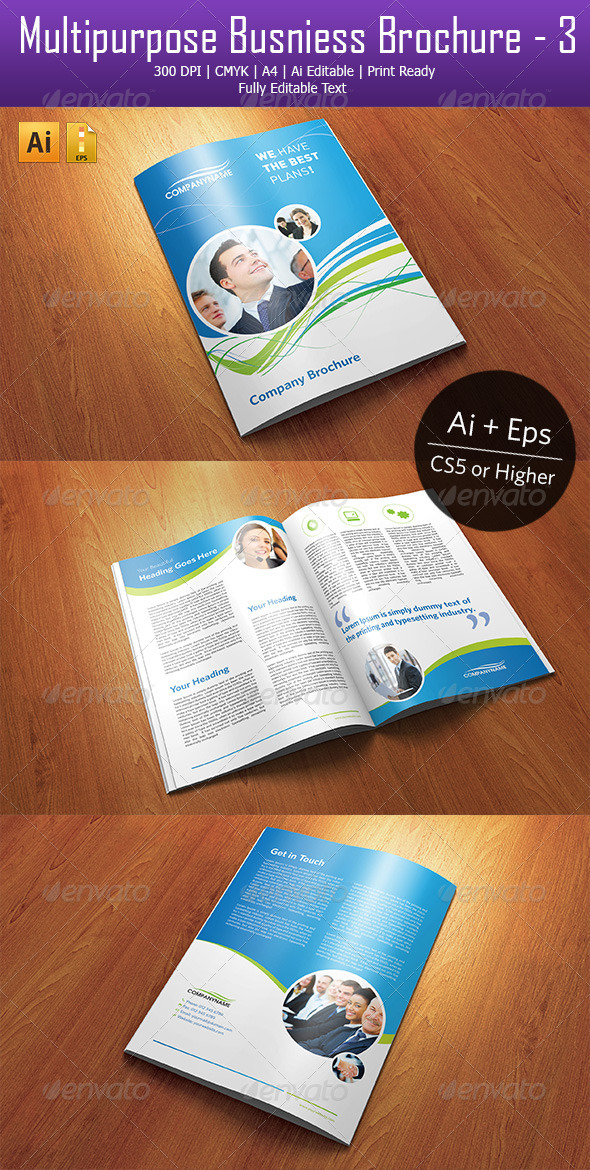 GraphicRiver Multipurpose Business Brochure 3 4422545