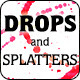 Watercolor Drops And Splatters - GraphicRiver Item for Sale