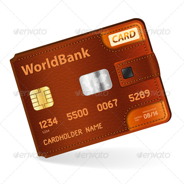 GraphicRiver Credit Card Concept 4423329