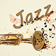 Background with Trumpet and Notes - GraphicRiver Item for Sale