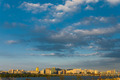 Seoul Tower Cityscape Han River Wide Sky - PhotoDune Item for Sale